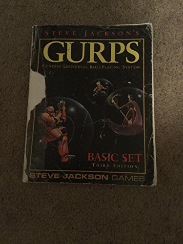 9780155634121: Steve Jackson's GURPS, Basic Set Third Edition (Generic Universal RolePlaying System)