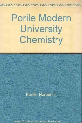 9780155639980: Porile Modern University Chemistry