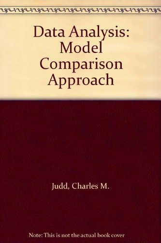 9780155674011: Data Analysis: Model Comparison Approach