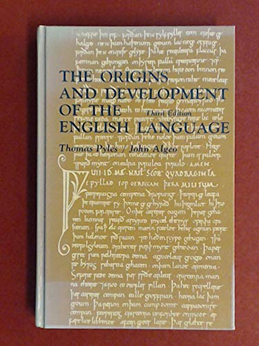 9780155676084: The Origins and Development of the English Language