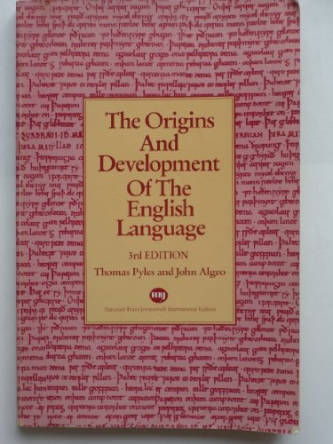 9780155676114: Origins and Development of the English Language