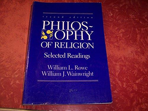 9780155705814: Philosophy of Religion
