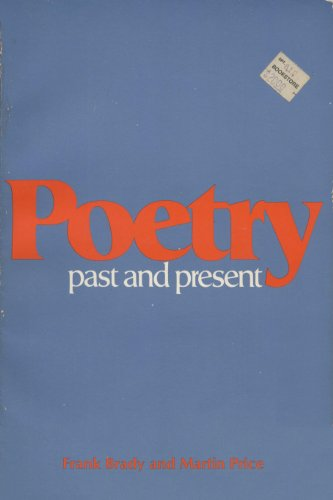 Poetry: Past and Present (0155706829) by Frank Brady