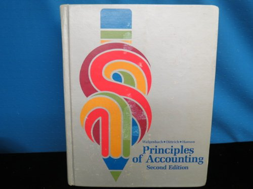Principles of Accounting: Paul H. Walgenbach;