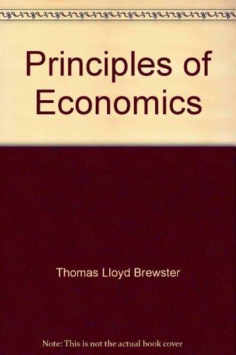 9780155715981: Principles of economics