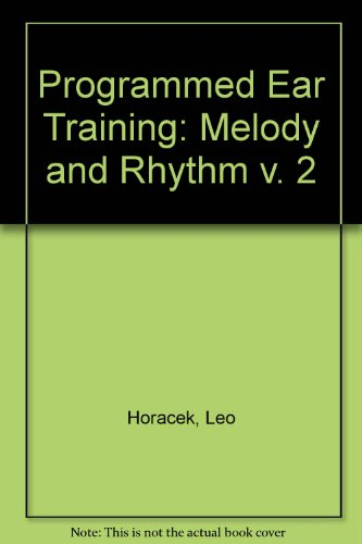 9780155720169: Programmed Ear Training (Melody & Rhythm)