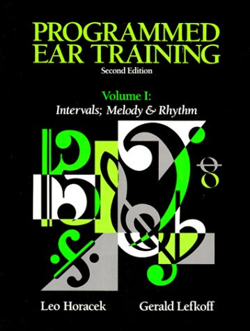 9780155720268: Programmed Ear Training: Intervals and Melody and Rhythm: Vol 1-2