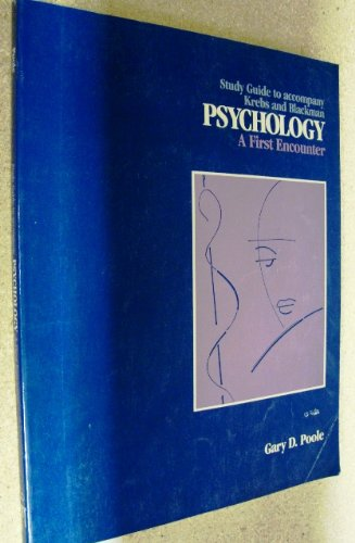 9780155725652: Study Guide to Accompany Krebs and Blackman: Psychology, a First Encounter