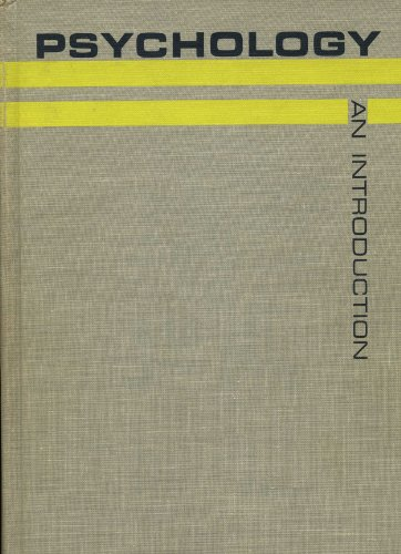 9780155726017: Psychology; an introduction