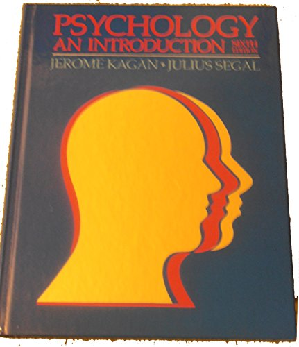 9780155726390: Psychology: An Introduction