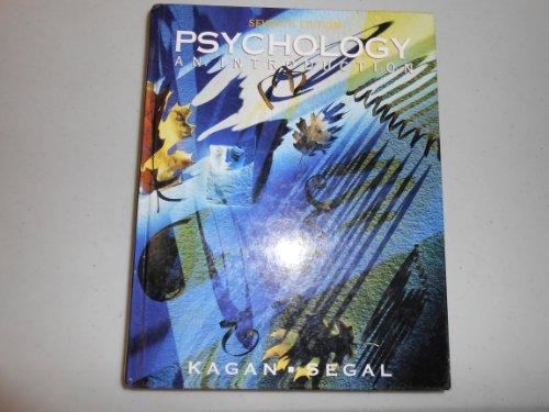 Psychology : An Introduction: Julius Segal; Jerome