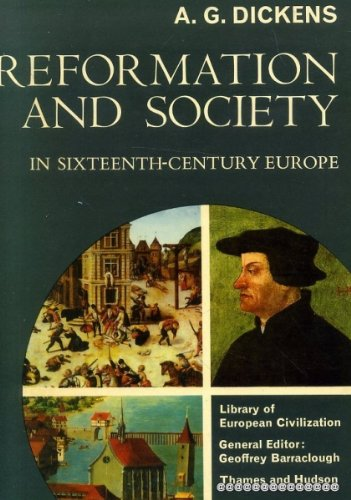 9780155764552: Reformation and Society in Sixteenth-Century Europe
