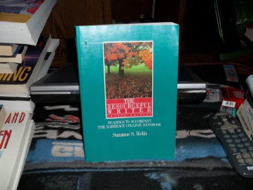 9780155766334: The Resourceful Writer: Readings to Accompany the Harbrace College Handbook