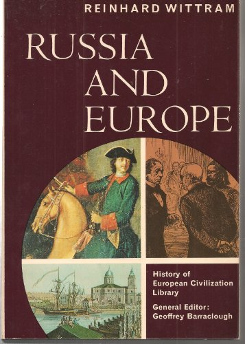 9780155779631: Russia and Europe (History of European Civilization Library)