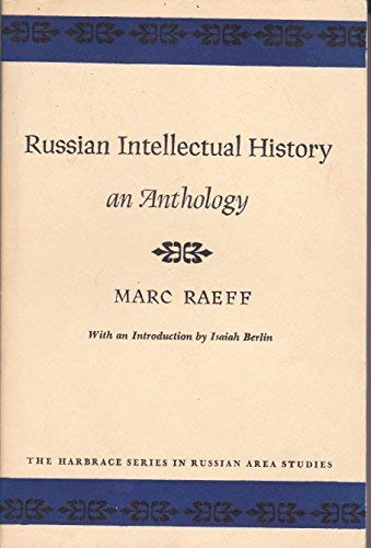 Russian Intellectural History: An Anthology: Raeff, Marc