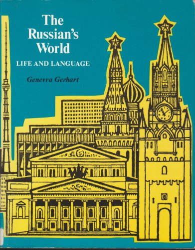9780155779839: The Russian's World: Life and Language