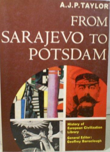 9780155781207: Taylor from Sarajevo to Potsdam