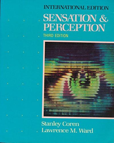 9780155796492: Sensation and Perception