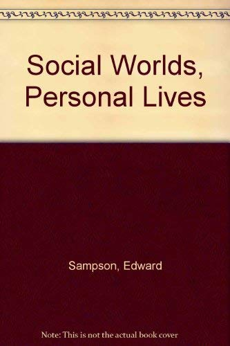 9780155818057: Social Worlds, Personal Lives: Introduction to Social Psychology