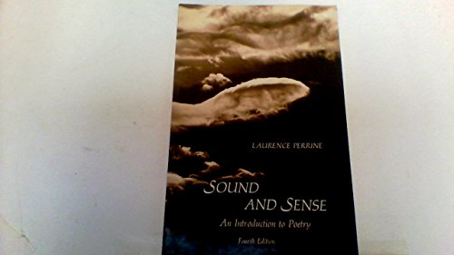 9780155826021: Sound and Sense: An Introduction to Poetry