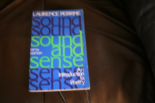 9780155826045: Sound and sense: An introduction to poetry