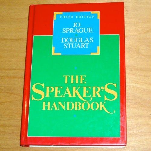 9780155831735: Speaker's Handbook