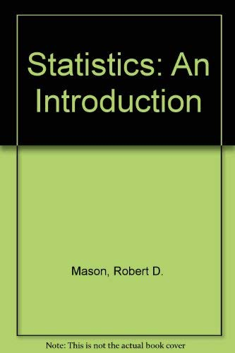 Statistics An Introduction (Third Edition)