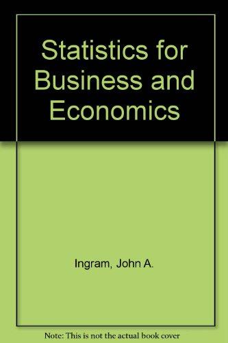 9780155835450: Statistics for Business and Economics