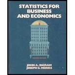 Statistics for Business and Economics (The Dryden: John A. Ingram,