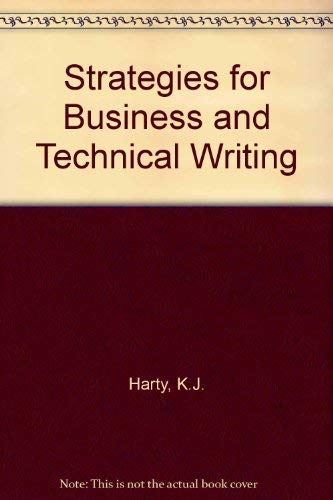 9780155839267: Strategies for Business and Technical Writing