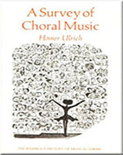 9780155848634: A Survey of Choral Music (Harbrace History of Musical Forms)