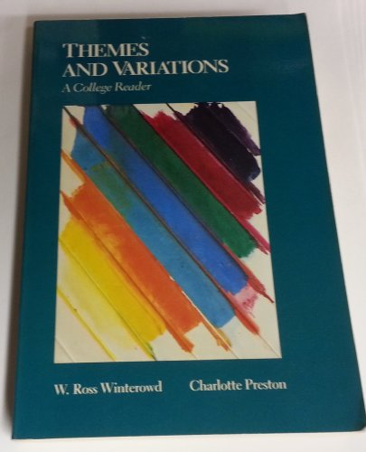 9780155914704: Themes and Variations: A College Reader