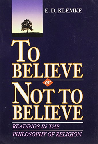9780155921498: To Believe or Not to Believe: Readings in the Philosophy of Religion