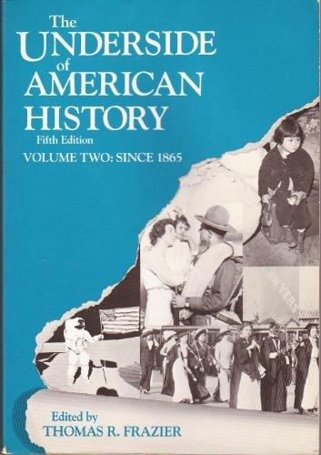 9780155928534: UNDERSIDE OF AMERICAN HISTORYVOL 2