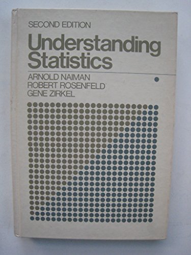 Understanding Statistics: An Informal Introduction for the Behavioral Sciences: Daniel B. Wright