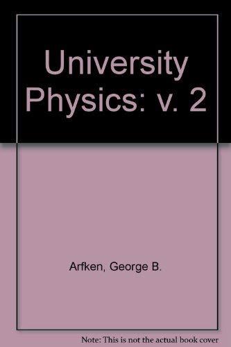 9780155929753: University Physics: v. 2