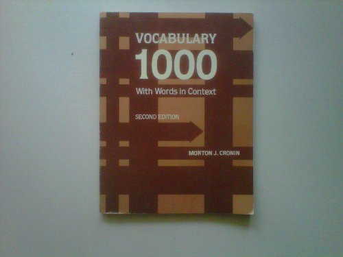 9780155949874: Vocabulary 1000: With Words in Context