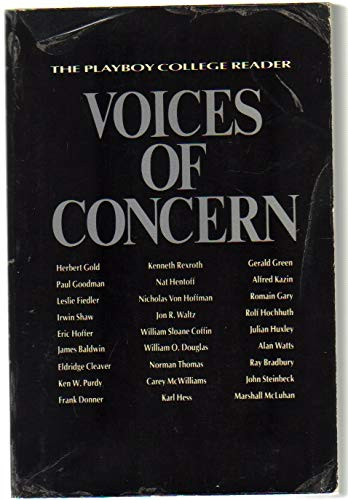 9780155950504: Voices of concern: The Playboy college reader