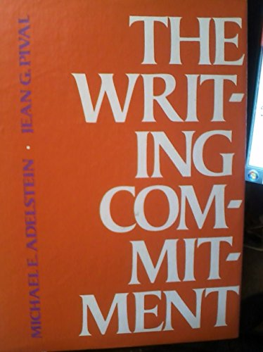 9780155978553: The writing commitment