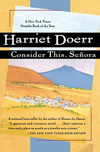 9780156000024: Consider This, Senora (A Harvest Book)