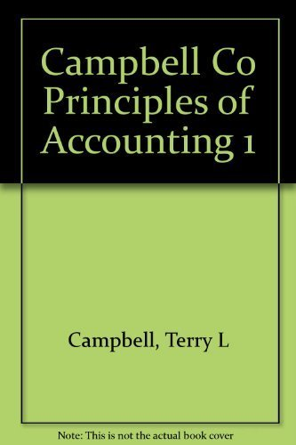 9780156000284: Campbell Co Principles of Accounting 1