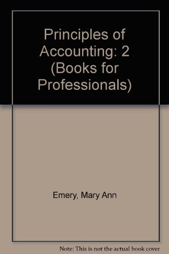 Accounting Principles First Edition Abebooks