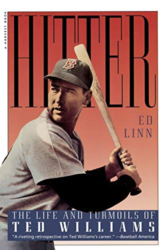 9780156000918: Hitter: The Life and Turmoils of Ted Williams