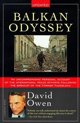 9780156005210: Balkan Odyssey (Harvest Book)