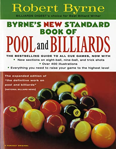 9780156005548: Byrne's New Standard Book of Pool and Billiards