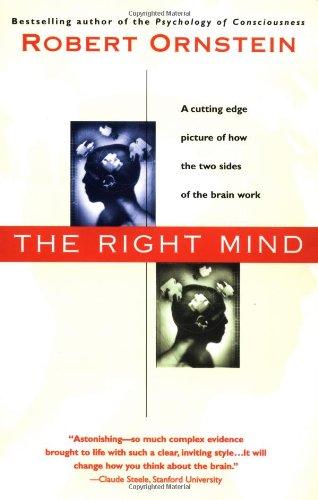9780156006279: The Right Mind: Making Sense of the Hemispheres