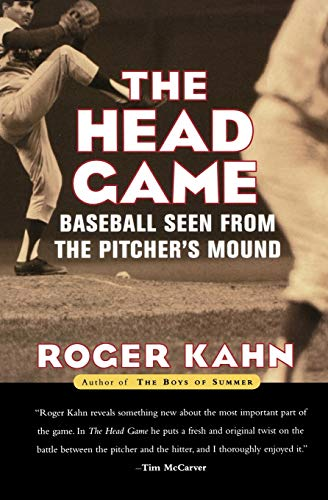 9780156013048: The Head Game: Baseball Seen from the Pitcher's Mound (Harvest Book)