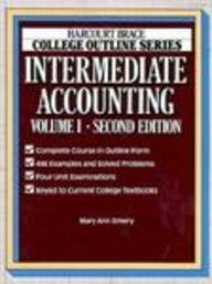9780156015080: Intermediate Accounting (HARCOURT BRACE JOVANOVICH COLLEGE OUTLINE SERIES)