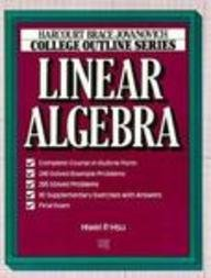 9780156015264: Linear Algebra (Books for Professionals)