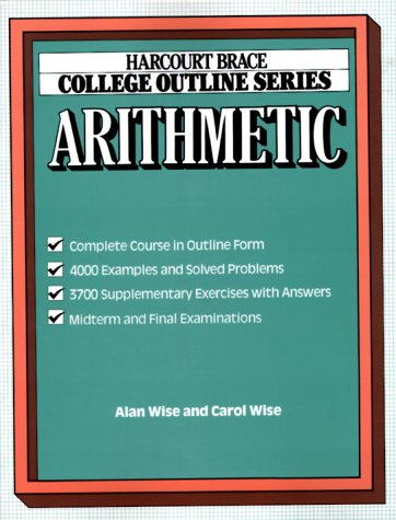 9780156015295: Arithmetic (Books for Professionals)